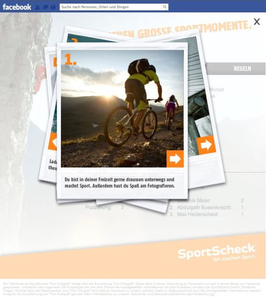 Bis Dezember werden die besten Bilder zu unterschiedlichen Sportarten gesucht. - Bild: SportScheck