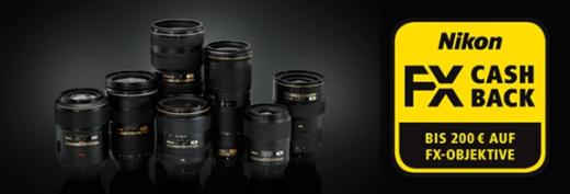Nikon verlängert CASHBACK-Aktion für FX-NIKKOR-Objektive - Fotocredit: Nikon